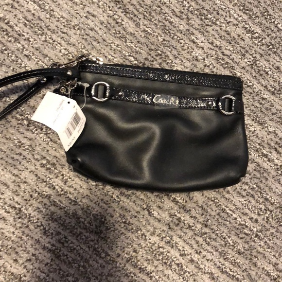 Coach Handbags - Brand new Black Coach wristlet